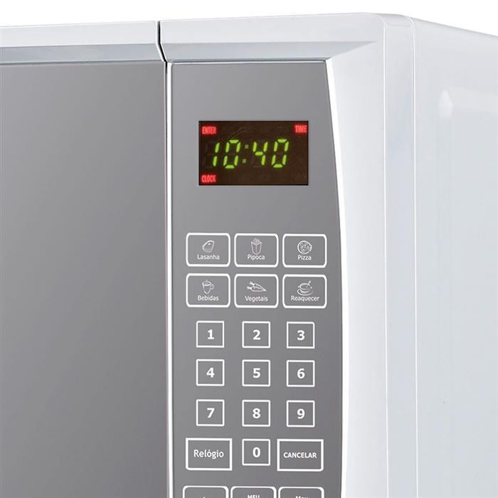 Microondas Philco PME22 20 Litros Porta Espelhada