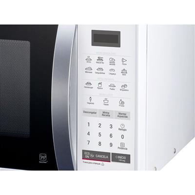 Microondas LG MS2355R Easy Clean 23 Litros Eco On I Wave 15 Receitas Pré-programadas
