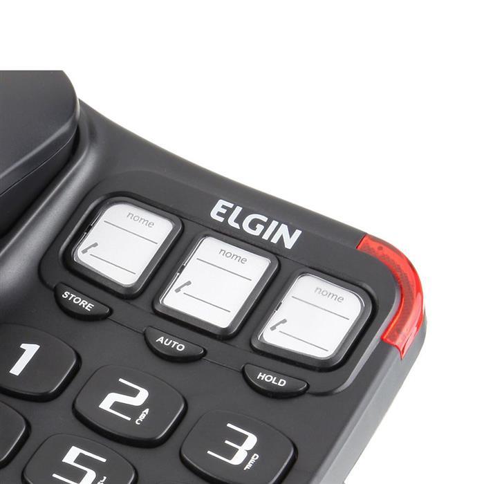Telefone Fixo Elgin TCF 2300 com Fio