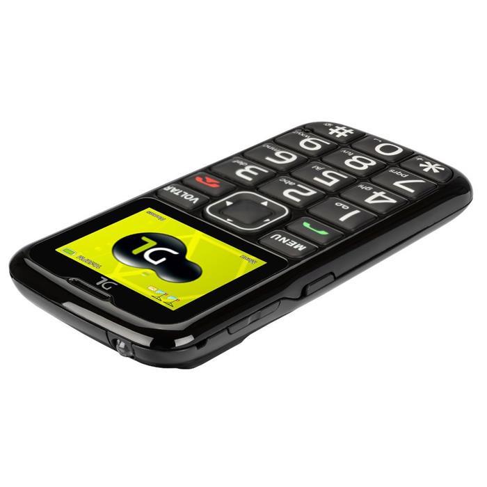 """Celular DL YC-110 Dual Chip Lanterna Rádio FM Câmera Tela 1,8"""" Função SOS"""