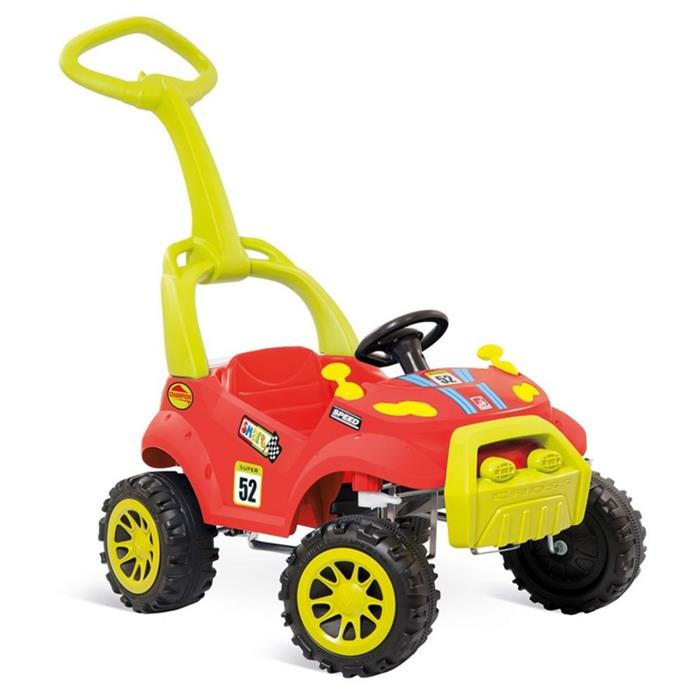Carro de Pedal Bandeirante Smart Car 461 2 em 1