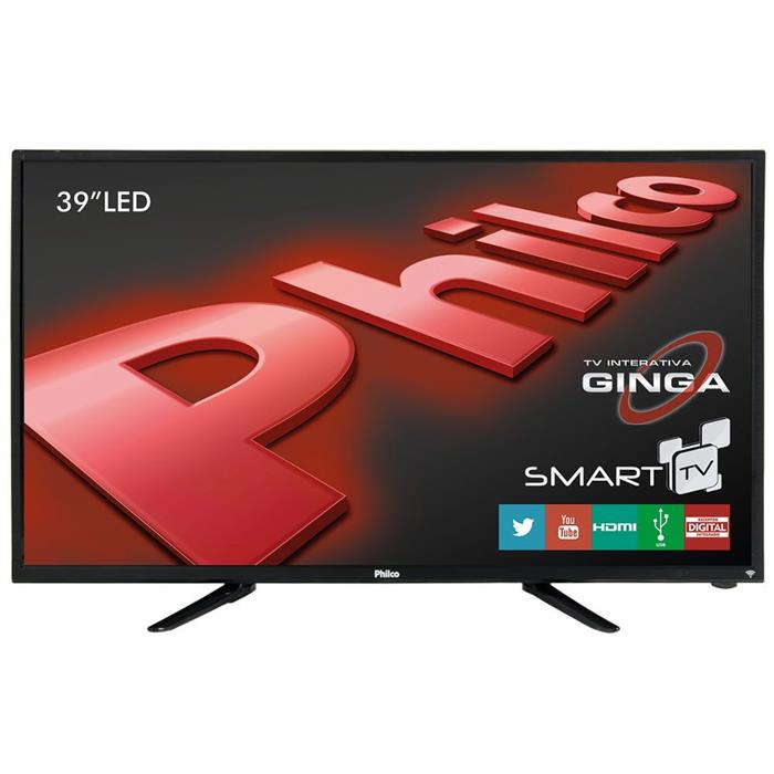"""Smart TV Philco PH39N91DSGW 39"""" LED HD USB HDMI"""