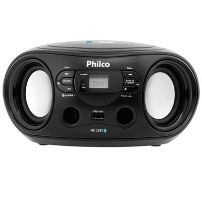 Rádio Philco PB122BT Bluetooth USB MP3 Entrada Auxiliar FM