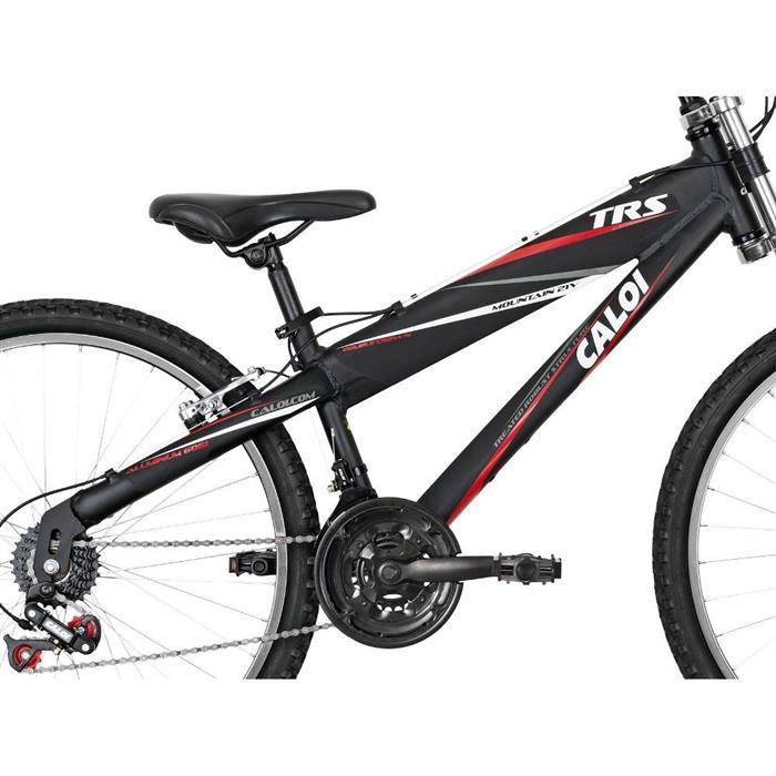 Bicicleta Caloi TRS 21 Marchas com Suspensão