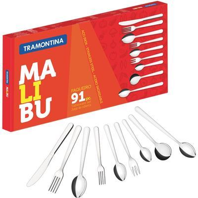 Faqueiro Tramontina Malibu 23799037 91 Peças
