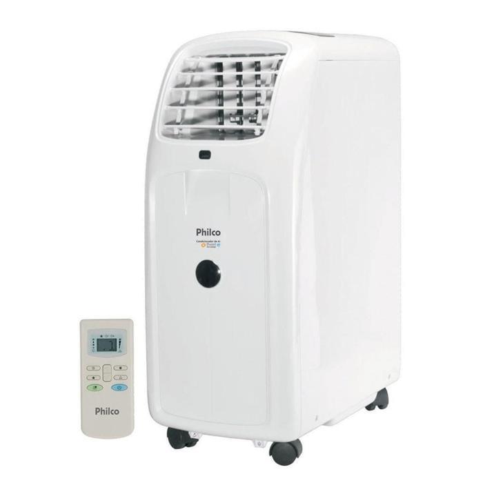 Condicionador de Ar Portátil Philco PH11000QF 11000BTUS 4 em 1