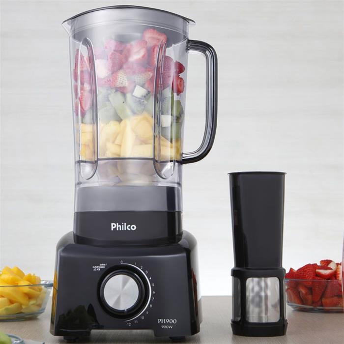 Liquidificador Philco PH900PR 12 Velocidades + Pulsar com Filtro