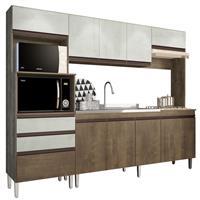 Cozinha Compacta Gralar Ariel 10 Portas 2 Gavetas