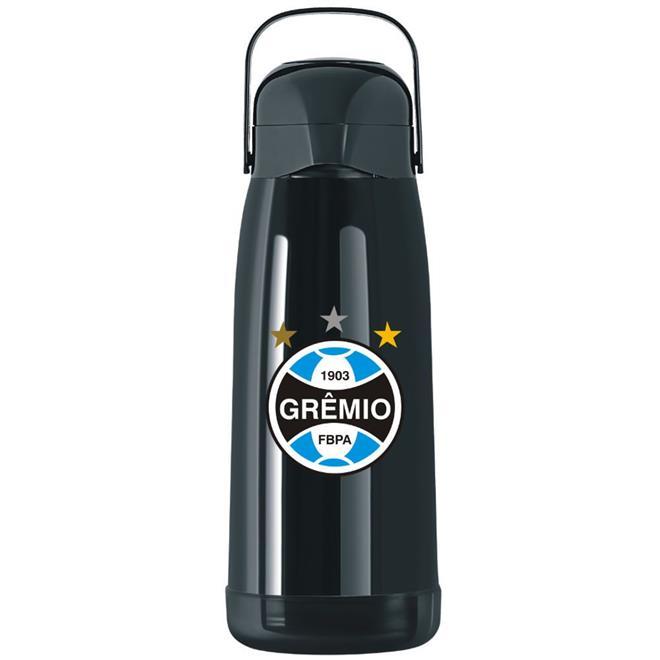 Garrafa Térmica Termolar Magic Pump 1,8 Litros Grêmio