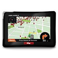 "GPS Guia Quatro Rodas 4.3"" Slim MTC4310 Windows MP4 Touch Screen"
