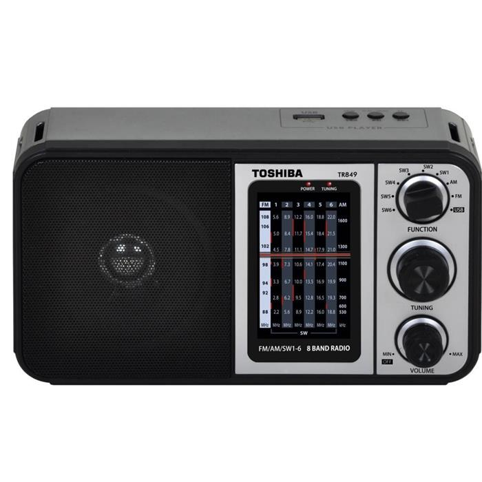 Rádio Semp Toshiba TR849 Analógico AM FM USB 1W