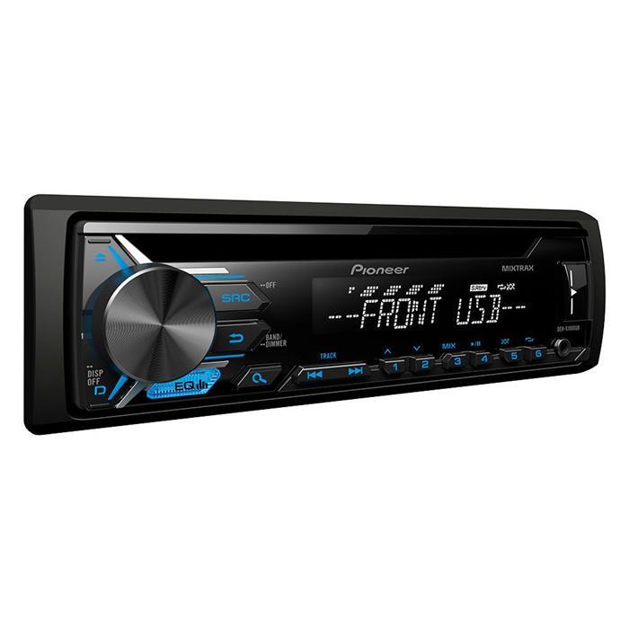 Auto Rádio Pioneer DEH-X1980UB USB MP3 CD Entrada Auxiliar