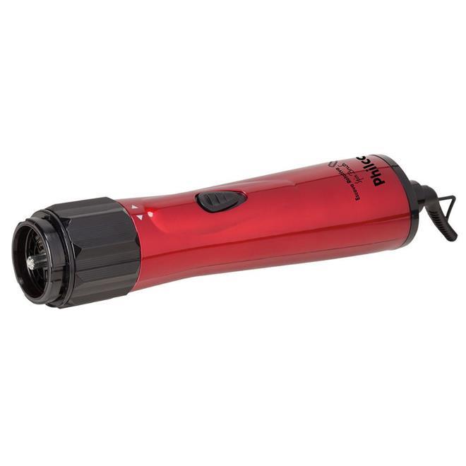 Escova Rotativa Philco Spin Brush 1000W 2 Temperaturas + Ar Frio Preto/Vermelho