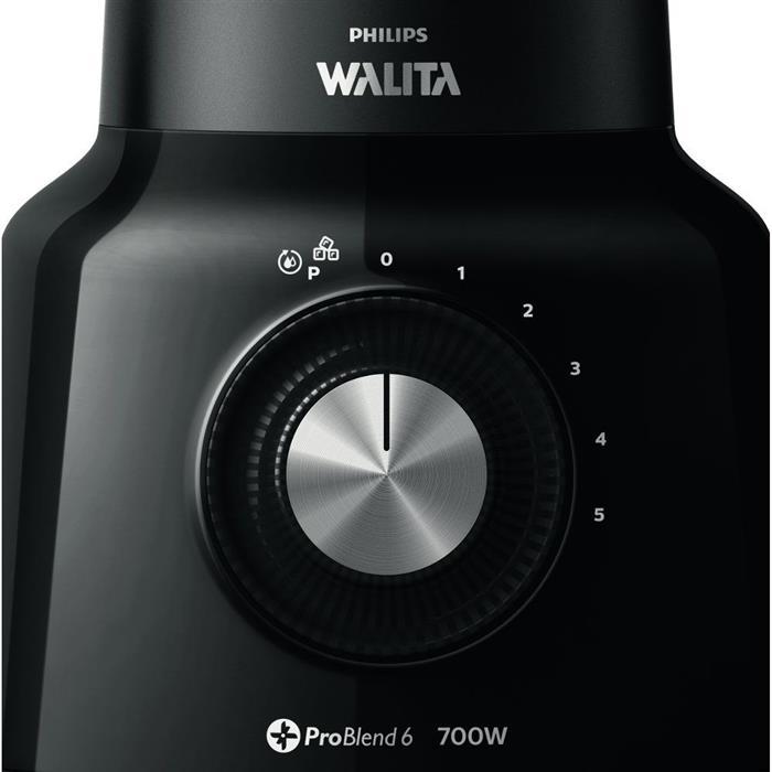 Liquidificador Philips Walita Problend RI2134/9 700W 6 Lâminas 5 Velocidades + Pulsar