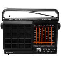 Rádio Motobrás RM-PFT73AC 7 Faixas AM FM