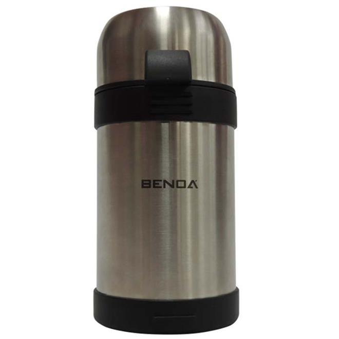 Garrafa Térmica Benoá HSF10A-STAINLESS STE 1 Litro Inox