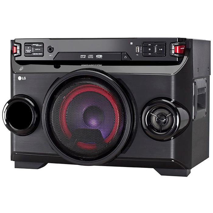Mini System LG OM4560 200W RMS Bluetooth MP3 USB