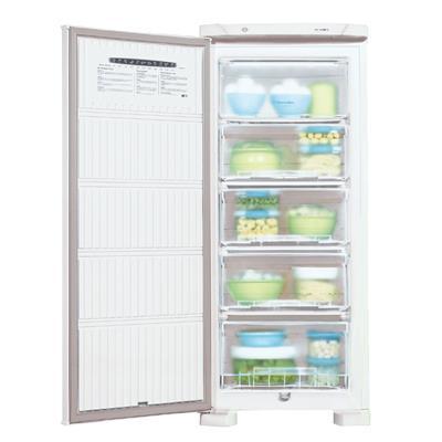 Freezer Vertical Electrolux FE18 Cycle Defrost 1 Porta 145 Litros 4 Gavetas
