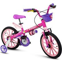 Bicicleta Infantil Nathor Top Girl Aro 16