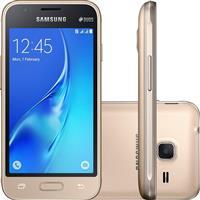 "Smartphone Samsung Galaxy J1 Mini Duos 8GB Dual Chip Quadcore 4"" Câmera 5MP 4G"