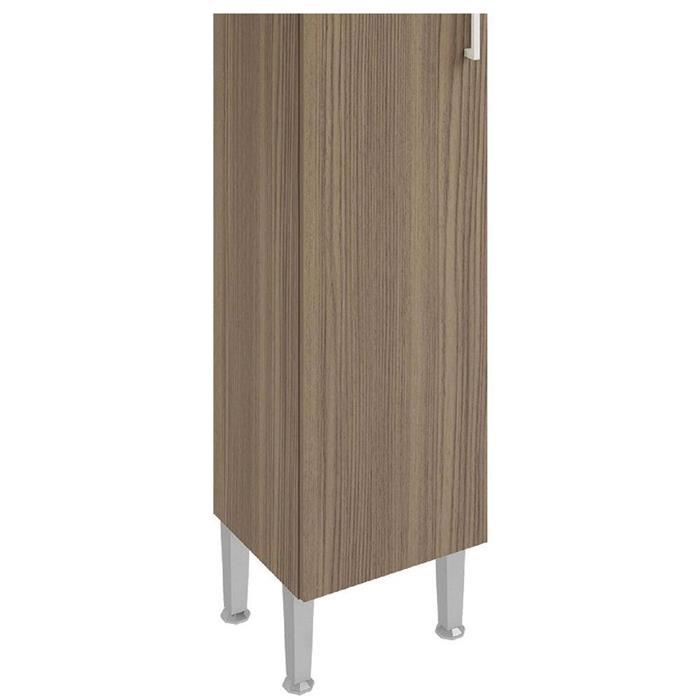 Paneleiro GenialFlex 875 1 Porta Castanho