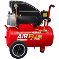 Motocompressor Schulz Air Plus Adventure 1,5HP 7.6/22 Libras