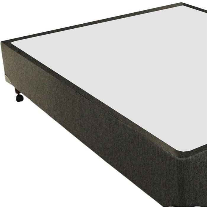 Base Box Casal Gazin Duetto Chenile Liso 138x188x27cm