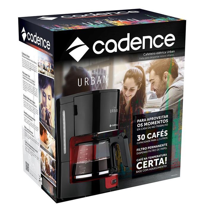 Cafeteira Cadence Urban CAF600 750W 30 Xícaras