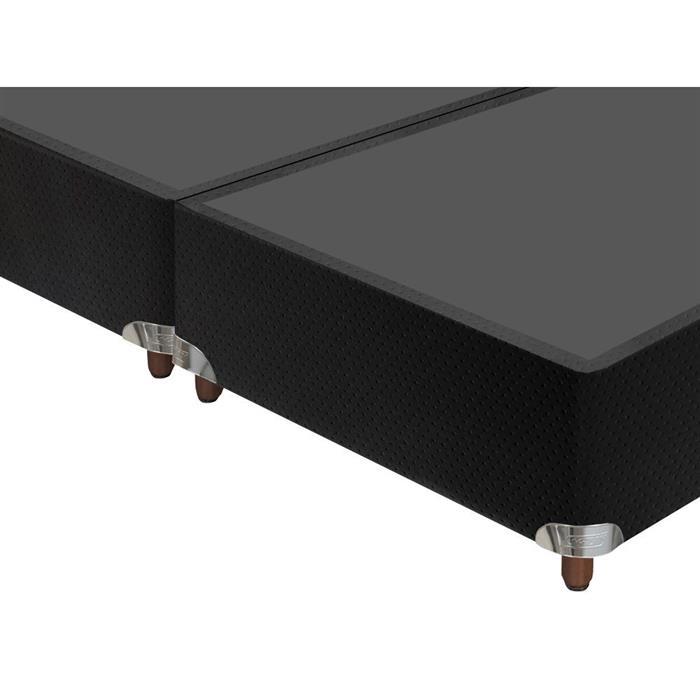 Base Box Casal Gazin Corano Queen 27x158x198cm Preto