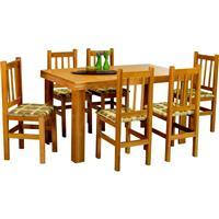 Conjunto Zamarchi Mesa 153 com 6 Cadeiras 20