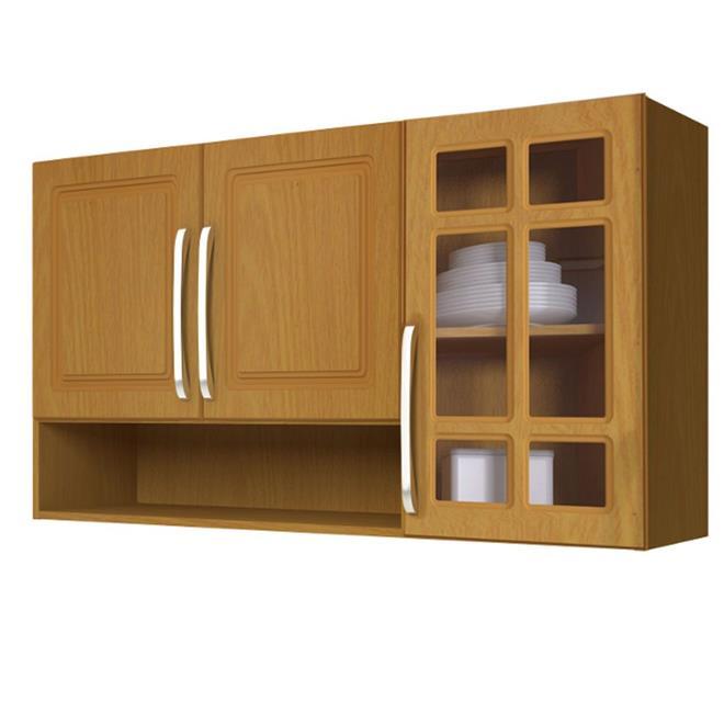 Cozinha Completa Indekes Jade Nova 11 Portas 3 Gavetas 4 Peças