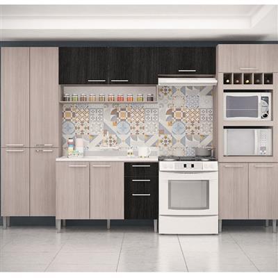 Cozinha Completa GenialFlex MDP 13 Portas 2 Gavetas 5 Peças