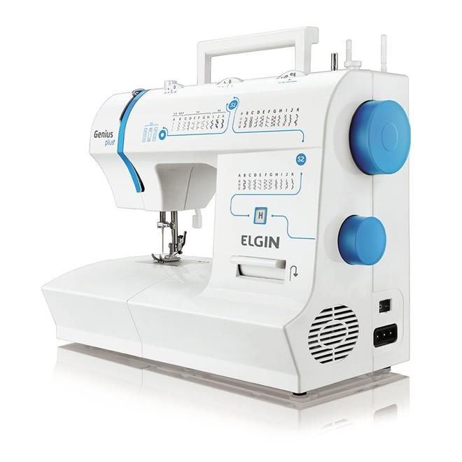 Máquina de Costura Elgin Genius Plus JX4035 31 Pontos