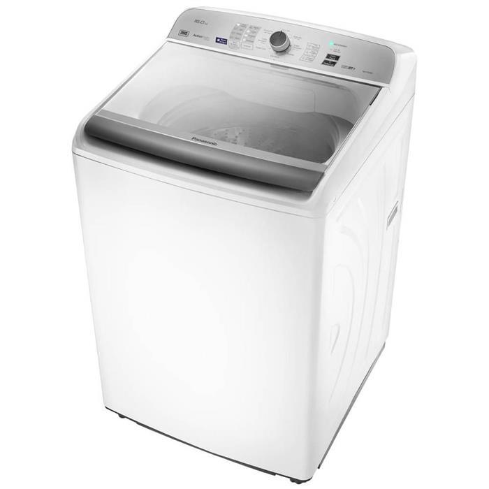 Lavadora de Roupas Panasonic DWS NA-F160B5W 16Kg Automática 9 Programas de Lavagem