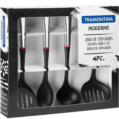 Kit utensílios Tramontina Moderne 66816710 4 Peças