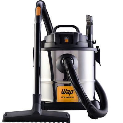 Aspirador de Pó e Água WAP GTW INOX20 Horizontal Inox 20 Litros