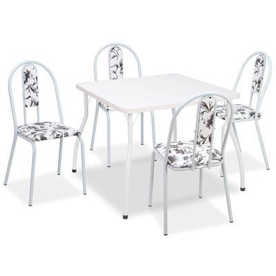 Conjunto Fil Mesa 13 com 4 Cadeiras 1060