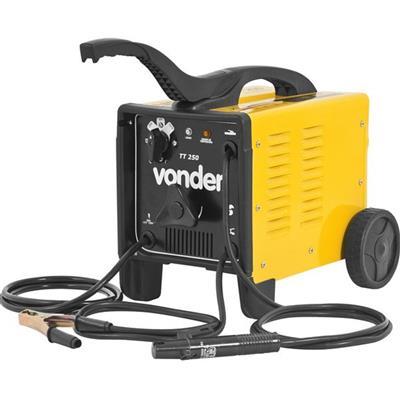 Transformador para Solda Elétrica Vonder Tt 250 com Rodas