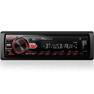 Auto Rádio Pioneer MVH-298BT USB Entrada Auxiliar Media Receiver