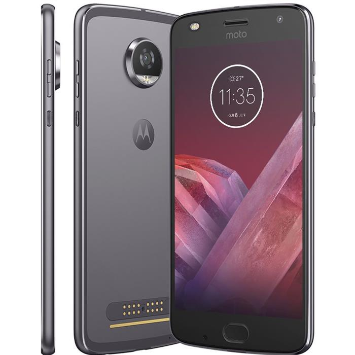 "Smartphone Motorola Moto Z2 Play Hasselblad True Zoom 5.5"" Dualchip 64GB 4G Câm 12MP + Frontal 5MP"
