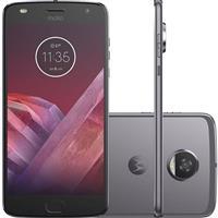 "Smartphone Motorola Moto Z2 Play 5.5"" Dualchip 64GB 4G Câm 12MP + Frontal 5MP"