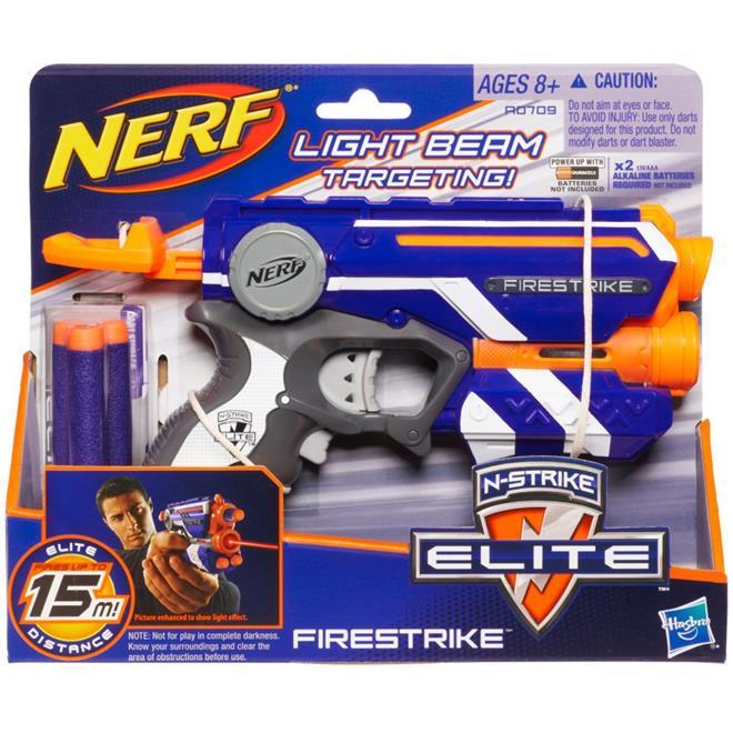 Lança Dardo Hasbro A0709 Nerf Firestrike