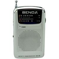 Rádio Portátil Benoá KK68 AM FM