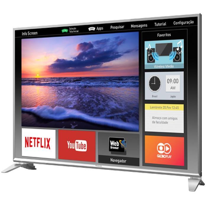 "Smart TV Panasonic TC-49ES630B LED 49"" HDMI USB Full HD"