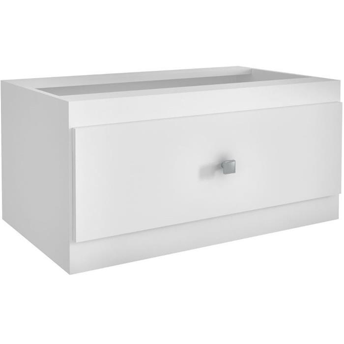 Caixa de Lenha Andrini CLN1 MDF Branco
