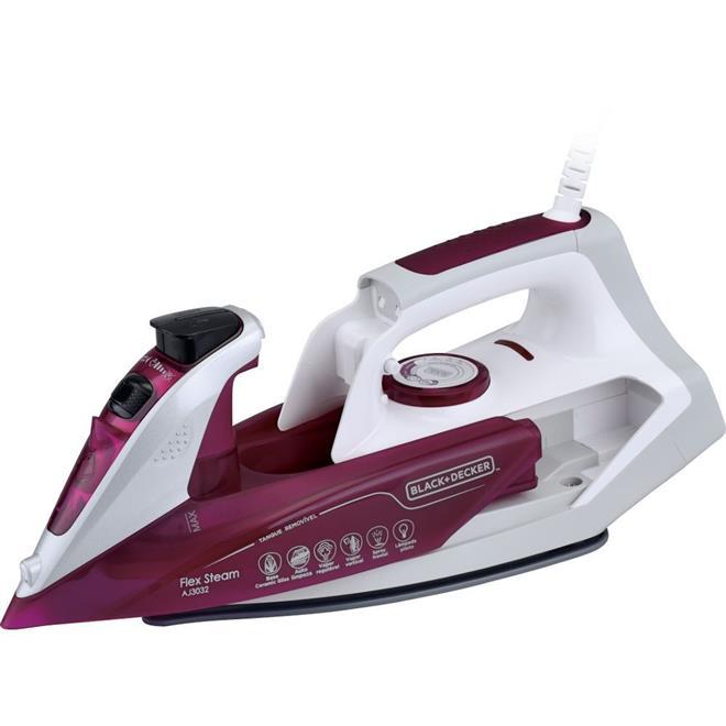 Ferro a Vapor Black & Decker AJ3032 com Spray