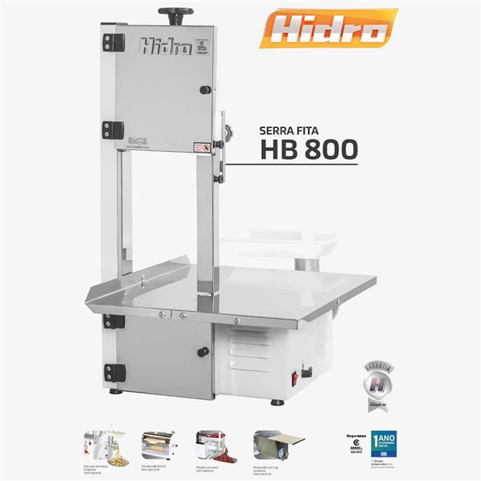 Serra Fita Hidro HB800 com Moedor 1/2CV