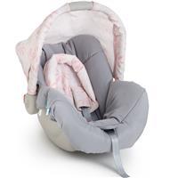 Bebê Conforto Galzerano Piccolina 8140 Cinto de Segurança 3 Pontos Capota Removível