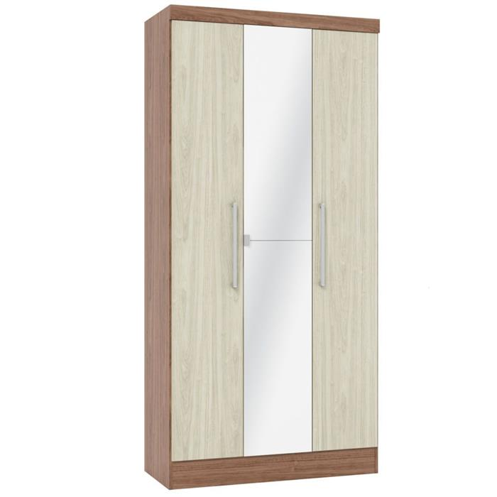 Quarto Completo Castro Nobre Fit 8 Portas 6 Gavetas com Espelho