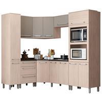 Cozinha Completa Henn Smart 12 Portas 3 Gavetas 8 Peças Fendi